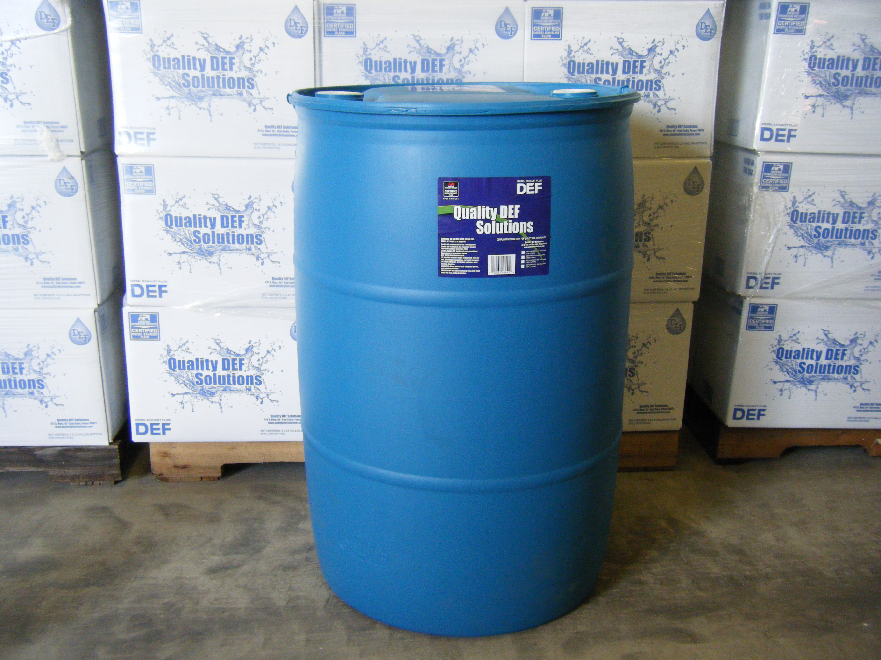 55 Gallon Quality DEF Solutions Drum