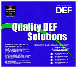 5,000 Gallon Quality DEF Solutions Truck Load